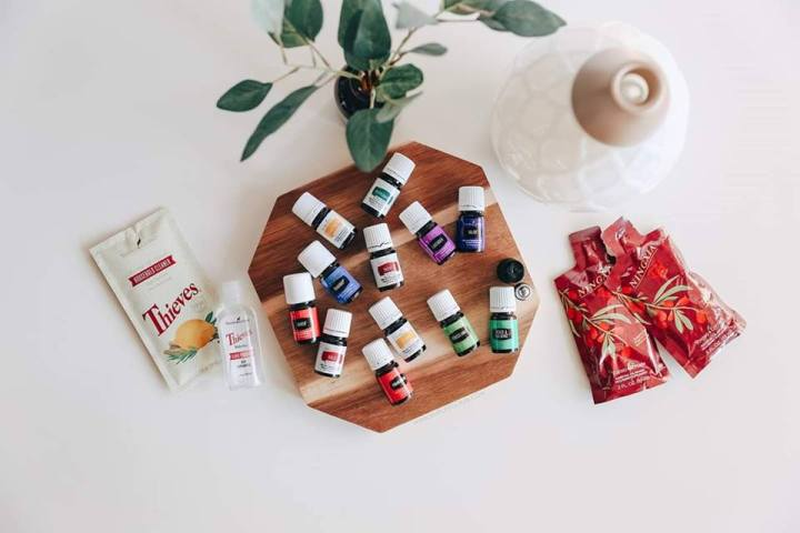 Try out Young Living essential oils with your own Premium StarterKit!